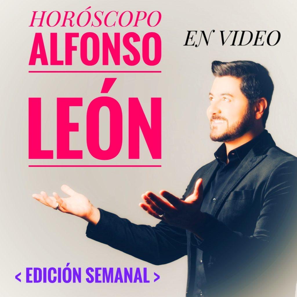 Horóscopo Alfonso León 2020